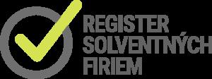 register solventných firiem